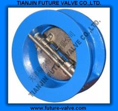 ANSI125 150 Dual Plate Wafer Type Check Valve