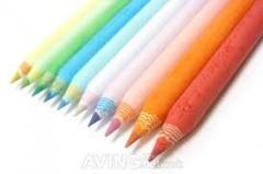 Eco friendly newspaper pencil