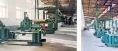Wet-laid glass tissue production machines