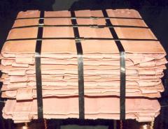 Copper cathode 99.95%