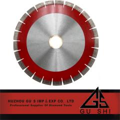 Brazed diamond blade for granite