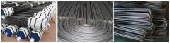 Steel seamless tubes for boilers and pipelines