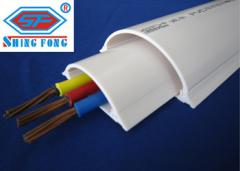 Half Moon Floor PVC Channel Wire Duct