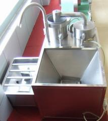 Rice washer purifier