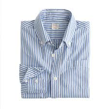 Stripe Washed Shirts