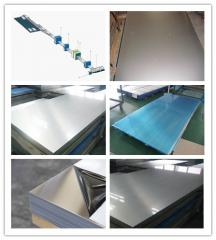 Heat-resistant stainless sheet steel