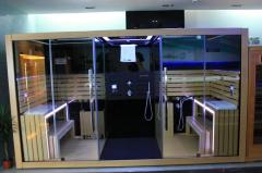 Multi-function sauna, steam and shower room