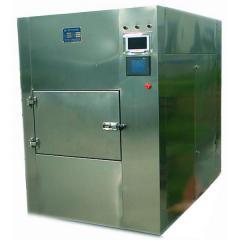 Microwave drying chambers