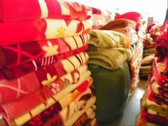 印花100%涤纶毛毯