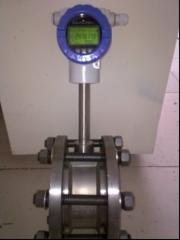 Flow meters for the vapor