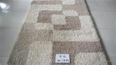 长毛装饰毯