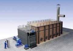 直接式燃煤热风炉