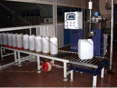 Equipment for bottling of non-food products