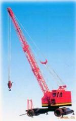 Harbor cranes