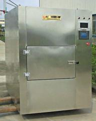 Microwave drying chambers