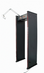 Stationary metal detectors