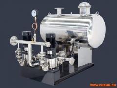 BW箱式管网叠压(无负压)变频给水设备