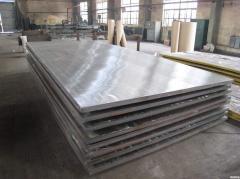 Metal clad plate