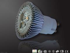 3x1WB GU10 LED Spotlights