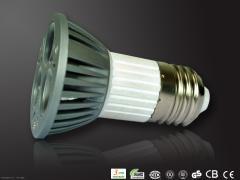3x1W E27 LED Spotlights