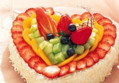 恋人-水果巧克力心型蛋糕-珠海蛋糕店中山蛋糕佛山蛋糕广州蛋糕
