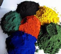 Iron Oxide Powder of Many Colours