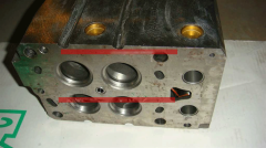 WD615 Cylinder head assembly