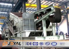 Joyal Mobile Impact Crushing Plant Y3S1548F1010