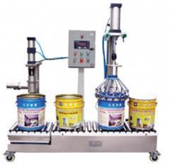 YCS01-50-A型称重式半自动液体灌装机