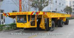 Heavy-duty shipyard transporter
