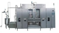 Aseptic packaging machine
