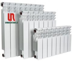 Water heater bimetal radiator UR7002 (with steel