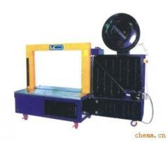 Equipment for binding pallets with polyester (PET)
