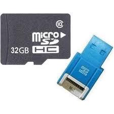 High Capacity 32GB SDHC Card Class 4