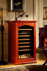 欧式实木恒温酒柜