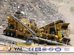Joyal  Mobile Impact Crushing Plant Y3S2160F1315