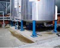 Automatic industry weighing system