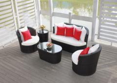 Outdoorfurniture/garden furniture--rattan sofa set