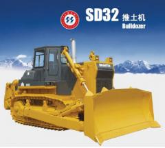 Original 320HP Shantui Crawler Bulldozer SD32