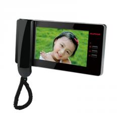4-WIRE Color Video Intercom Monitor with handset