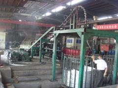 Equipment for the production of filters