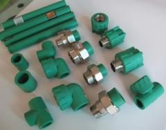 Polypropylene pipes
