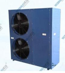 Refrigerating machineswith air cooling