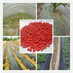 Agricultural crop herbicide film masterbatch