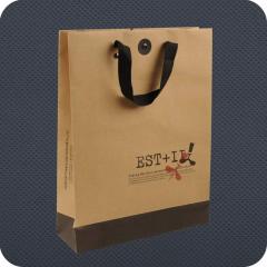 Luxury ribbon handle bags