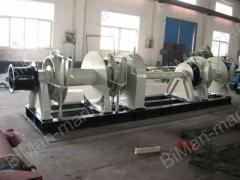 Electric Combined Anchor Windlass Mooring Winch