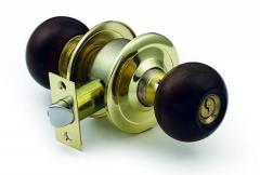 Wooden knob Cylindrical door lock 5000 Seires