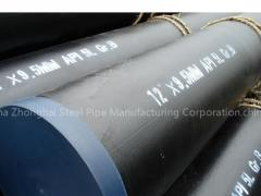 Anti-corrosion Coating Schedule 40 Steel Pipe Mill