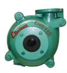 EHR-1.5B rubber lined slurry pump
