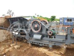 Joyal  Mobile Jaw Crushing Plant YG1349E912